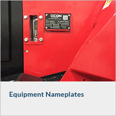 Equipment Nameplates
