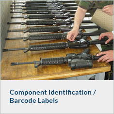 Component Identification / Barcode Labels